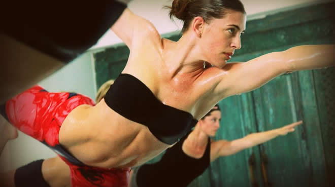 Los famosos eligen el Bikram Yoga