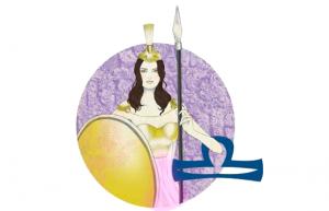 diosa-atenea