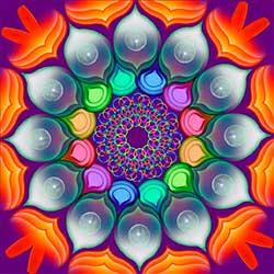 Las esferas de la suerte - Los mandalas