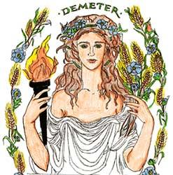 Virgo - A tu signo le corresponde La Diosa Démeter