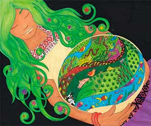 Acuario - A tu signo le corresponde La Diosa Gaia