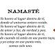 Namaste significado traducción sánscrito
