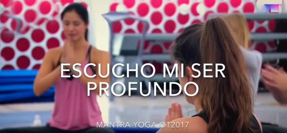 Mantra Yoga de Operación Triunfo Realmente