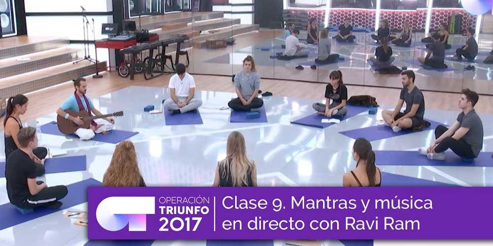 Mantras Ravi Ram Operación Triunfo