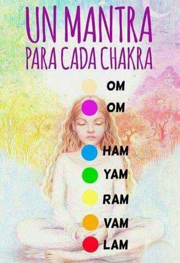 Mantras para cada chakra