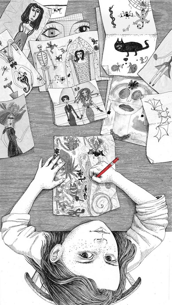 Ilustraciones Artistas Sveta Dorosheva