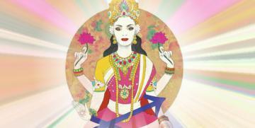 Sagitario – A tu signo le corresponde La Diosa Lakshmi