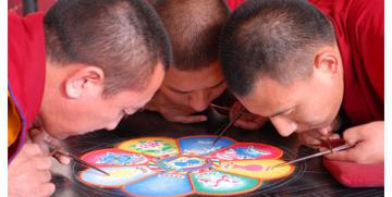 Los mandalas orientales – Mandala proviene del sánscrito y significa Círculo Sagrado